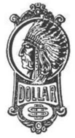 Ecusson Dollar