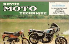 Revue Moto Technique n°14 de 1974
