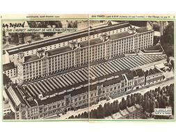 Les bâtiments de Manufrance à St Etienne