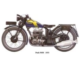 Puch 500N de 1933