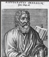 Portrait d'Hippocrate