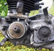 Démontage du pignon sortie moteur