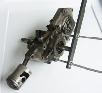 L'outil d'extraction du vilebrequin