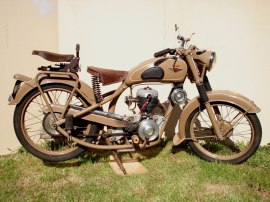 Gima 125 AMC 3 vitesses 1951