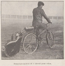 Le motoporteur 1919