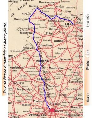 Itinéraire étape 1