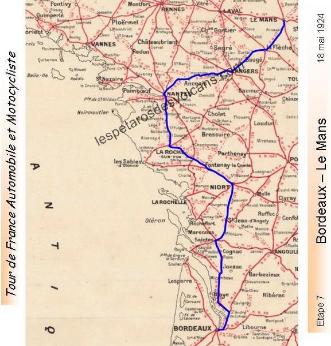 Etape 7 Bordeaux - Le Mans