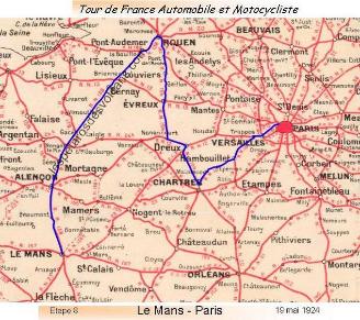 Dernière étape du Tour de France 1924