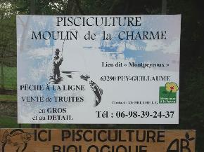 Pisciculture de Montpeyroux