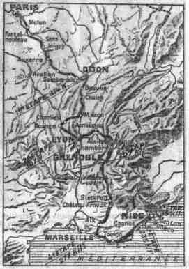 Carte du parcours 1924