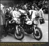 Bouquets des vainqueurs à Pau 1960
