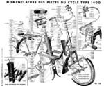 Eclaté partie cycle type 1400