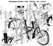 Eclaté partie cycle type 2200