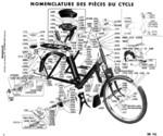 Eclaté partie cycle type 3800