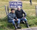 Les organisateurs au col du Béal 1390 m