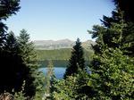 Lac Pavin et massif du Sancy