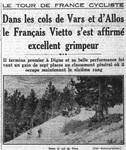 Le Petit Parisien du 13-07-1934